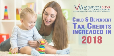 2018 Child & Dependent Tax Credits
