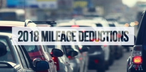 2018 Standard Mileage Rates Announced